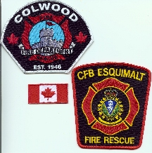 Colwood Fire Department patches