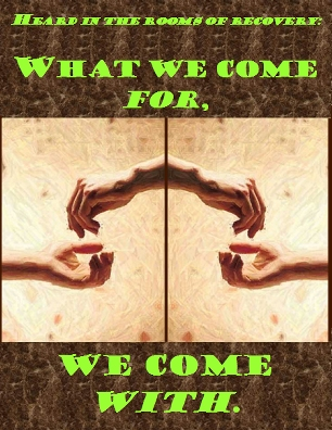 What we come for, we come with. #Getting #Bringing #Recovery